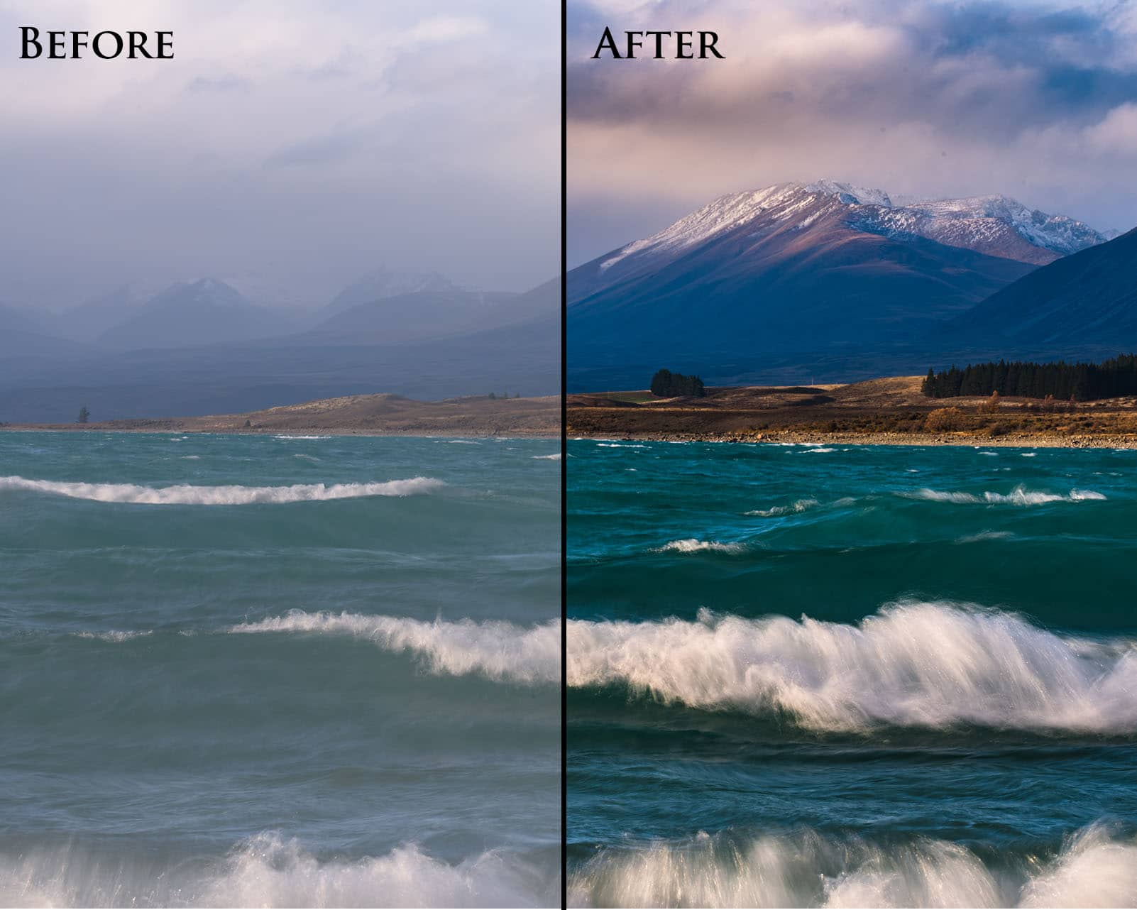 How to Process a Landscape Photo in Lightroom