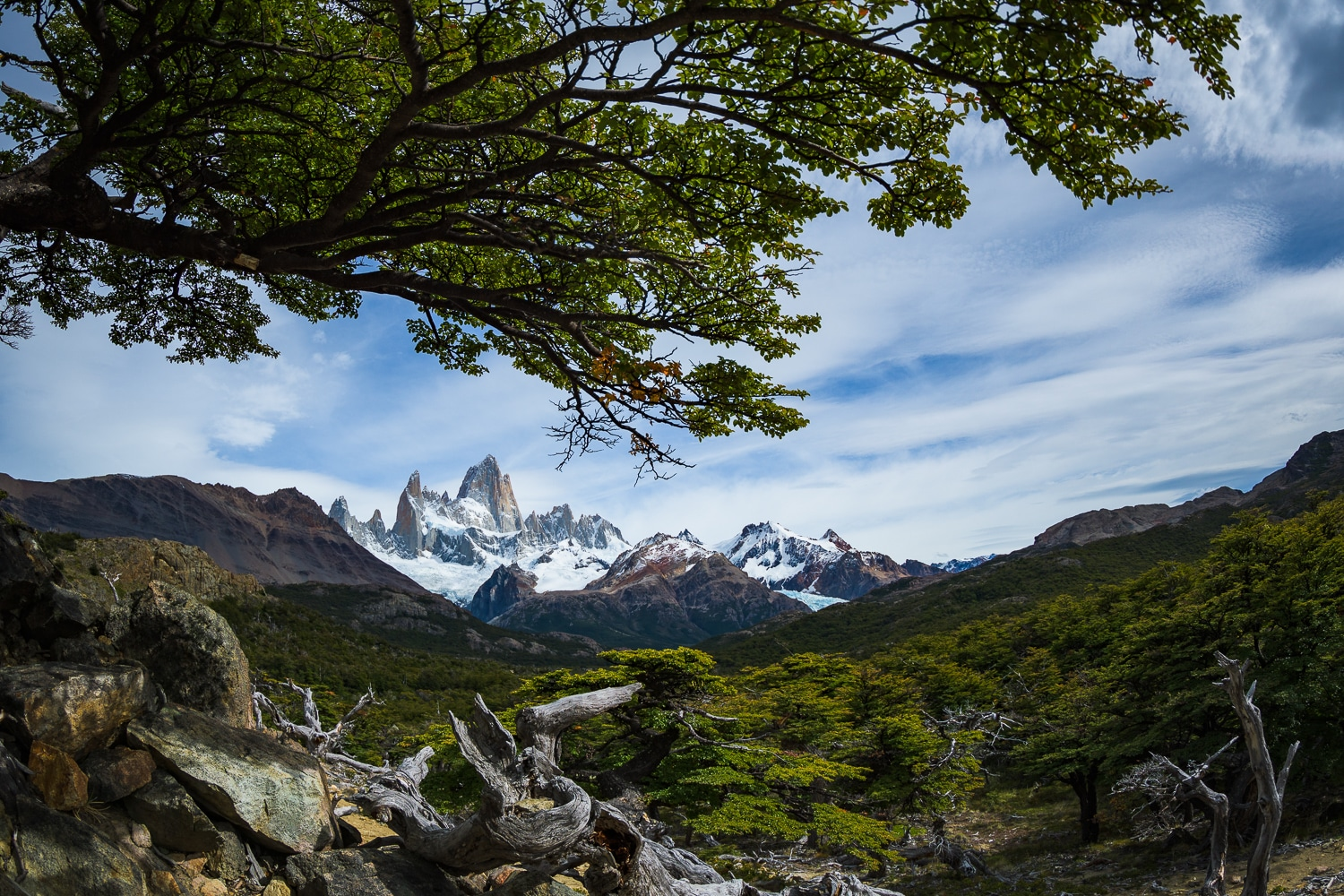 Mt Fitz Roy, Argentina. Nikon D500 . ISO100, f/4.5, 13mm, 1/3200 sec, Nikon Nikkor 8-15mm Fisheye Sample Photos