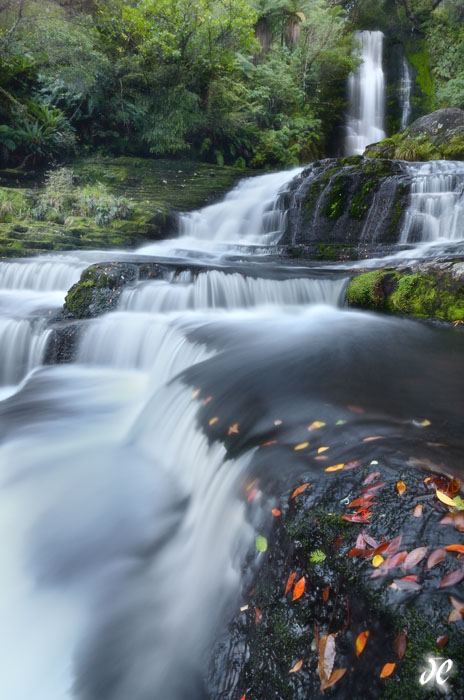 McLean Falls, The Catlins, South Island, New Zealand