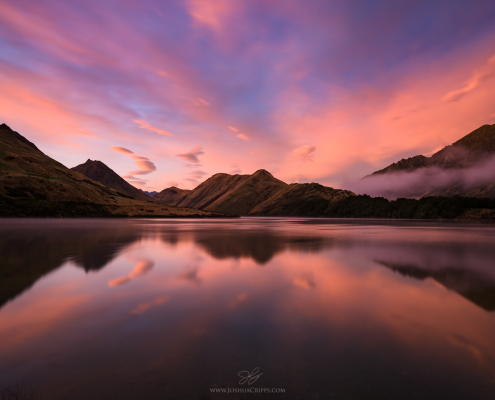 moke-lake-queenstown-sunrise